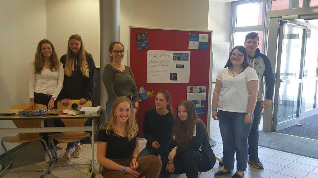 # frei – Schule-mit-Courage-Gruppe setzt sich gegen Sklaverei ein