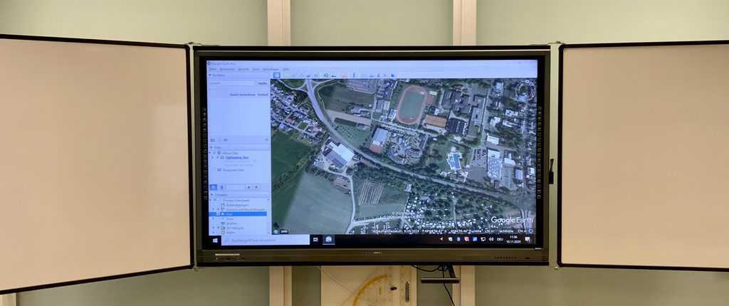 Digitalisierung am DBG – Einzug der digitalen Tafeln im Pavillon