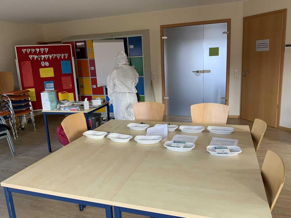Testräumlichkeiten im Haus des Sozialen Lernens