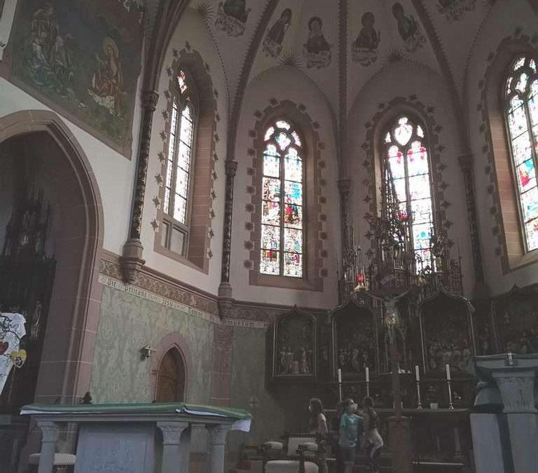 Aktuelles aus dem Religionsunterricht: Kirchenerkundung der 5. Klassen