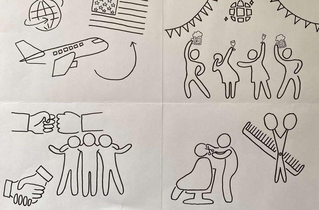 Impressionen aus dem Fernunterricht – Teil 11 [Kunst]