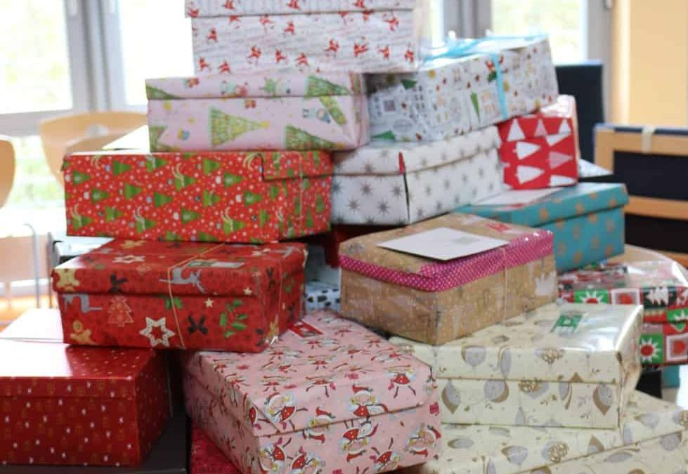 Weihnachten im Schuhkarton